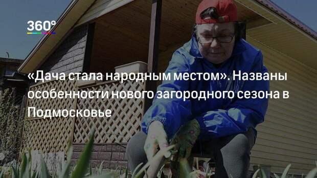 «Дача стала народным местом». Названы особенности нового загородного сезона в Подмосковье