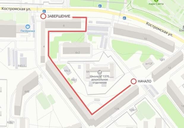 Глава управы оценит состояние дворов на Костромской