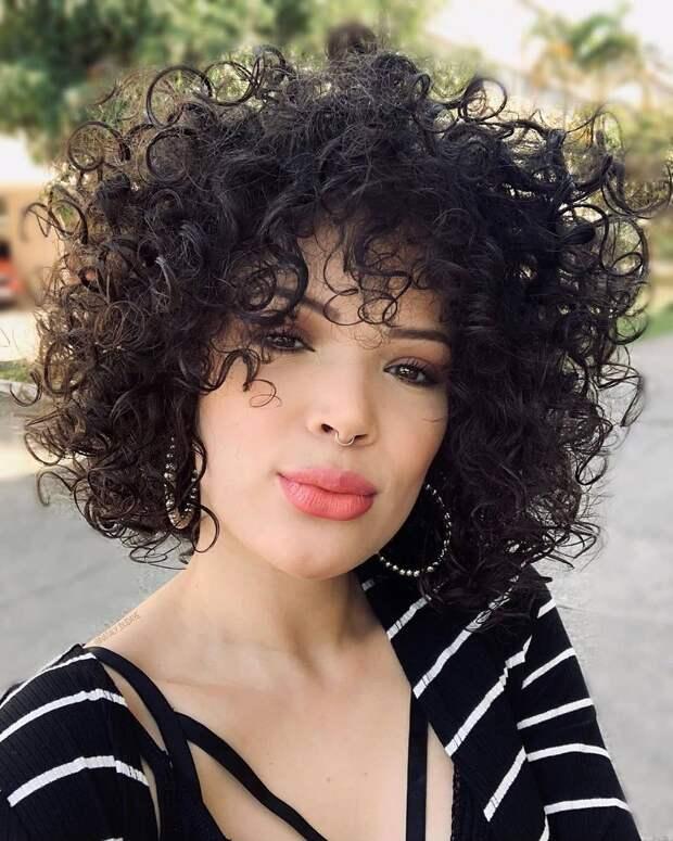 Завивка на короткие и средние волосы фото 2