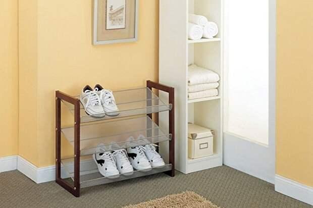 Удобные системы для организации хранения обуви в прихожей