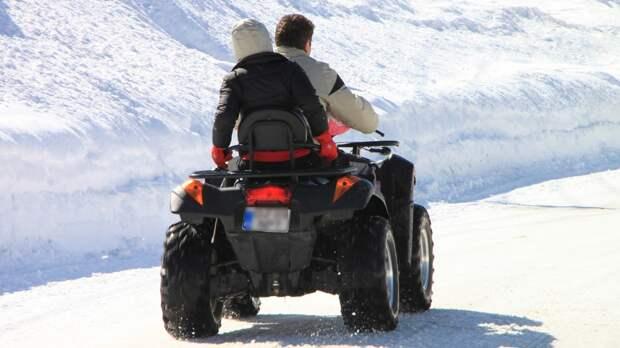 Сотрудник заповедника рассказал о вреде езды на квадроцикле для природы