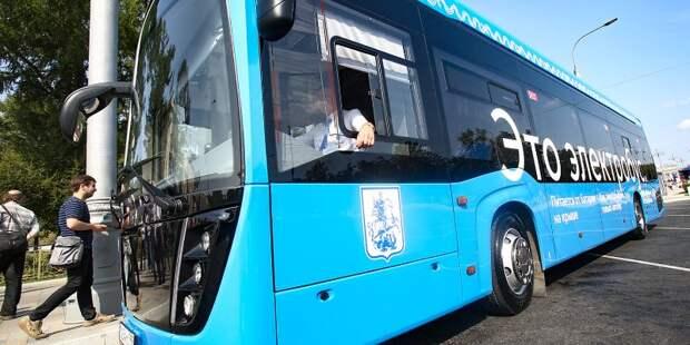 Добраться от усадьбы «Алтуфьево» до платформы «Лось» можно будет на электробусе