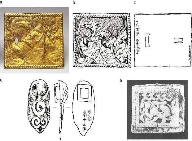 Скифо-сибирский звериный стиль повлиял на искусство древних ювелиров Китая