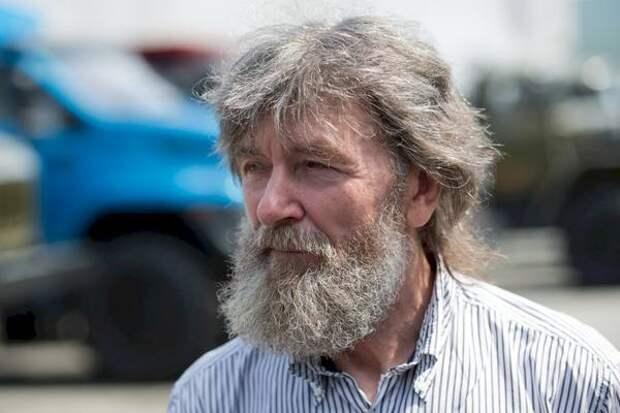 Свердловские элиты встречают легендарного путешественника Федора Конюхова