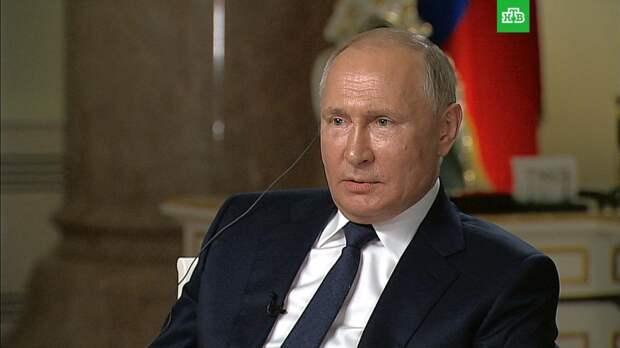 Путин потребовал от журналиста NBC не затыкать ему рот