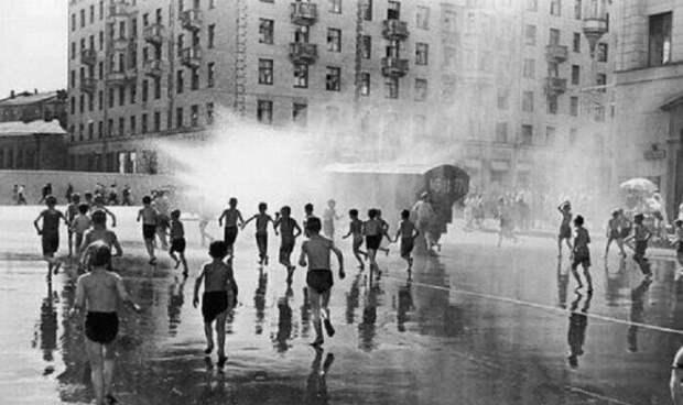 Водные процедуры. СССР, история, фото