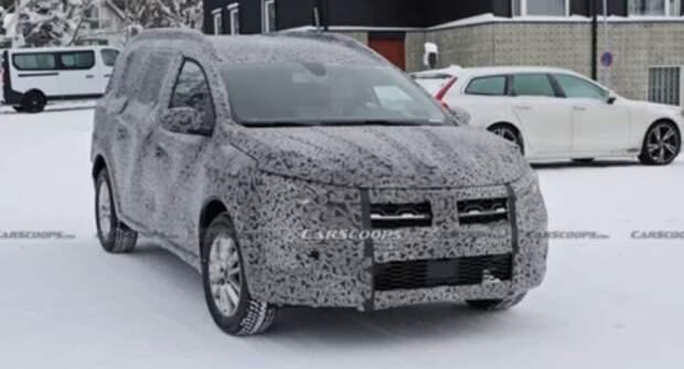Универсал Dacia Logan следующей генерации впервые запечатлели на тестах