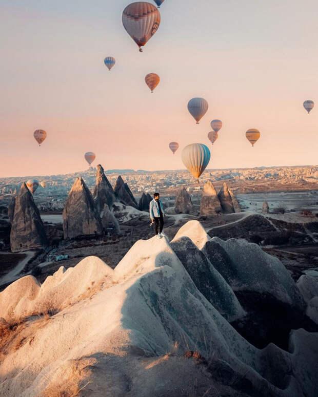 Захватывающие фото из путешествий Давиде Анзиманни