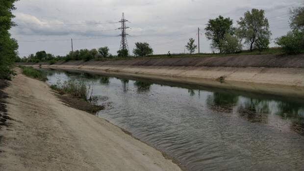 Появилось видео параллельного Северо-Крымскому каналу главного водовода Крыма