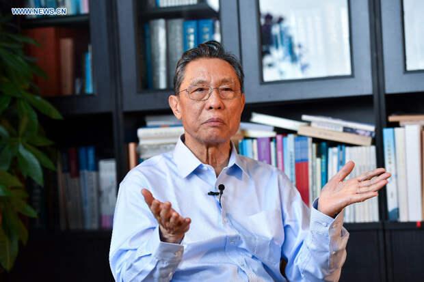 Ведущий эпидемиолог КНР Чжун Наньшань назвал срок перелома в пандемии
