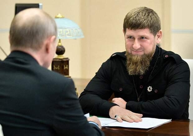 Путин предложил Кадырову пойти на следующие выборы главы Чечни