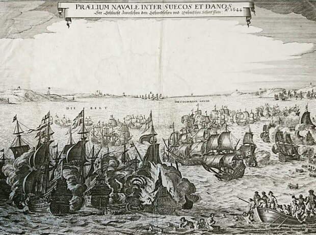 Сражение у острова Фемарн 13 октября 1644 года - Катастрофа датского флота | Warspot.ru