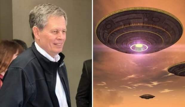 НЛО появляются из будущего