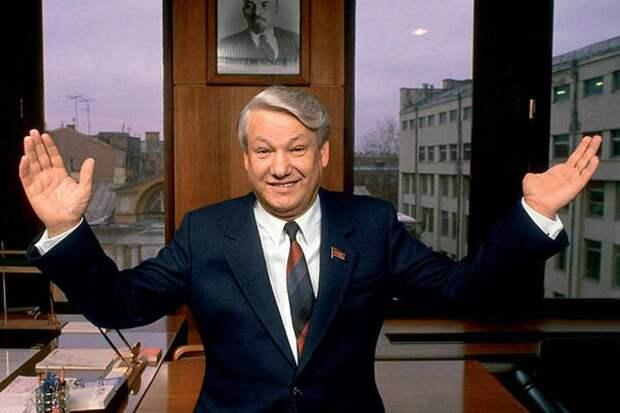 Ельцин: «Да нафиг нам этот Крым, этот Севастополь»