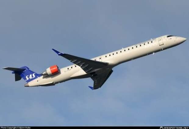 Bombardier CRJ900LR авиакомпании CityJet для авиакомпании Scandinavian Airlines