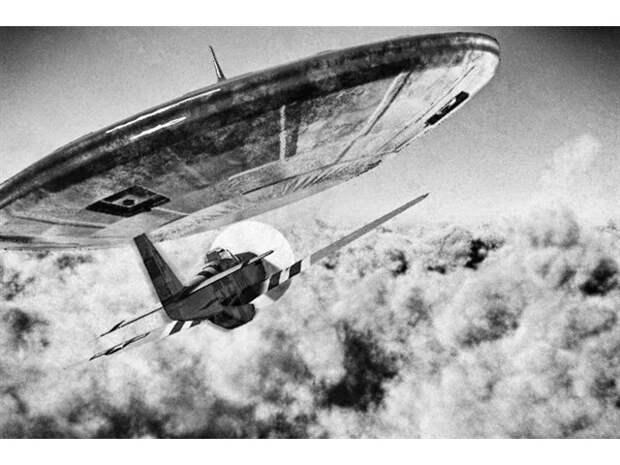 """Неудачная попытка преследования """"НЛО"""" в 1948 году"""