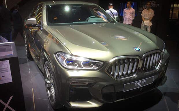 Новый BMW X6 с памятью на последние 50 метров пути: это как?
