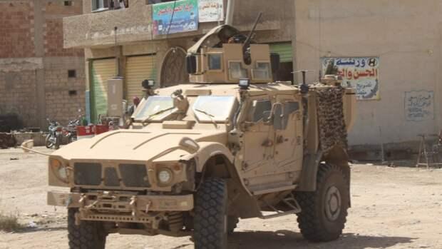 ЦПВС зафиксировал активное перемещение военной техники коалиции США в Сирии