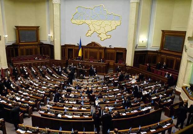 Депутаты бомбящей Донбасс Украины хотят признать Россию агрессором