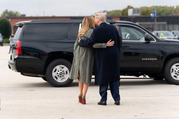 Жена Трампа может подать на развод после результатов выборов в США