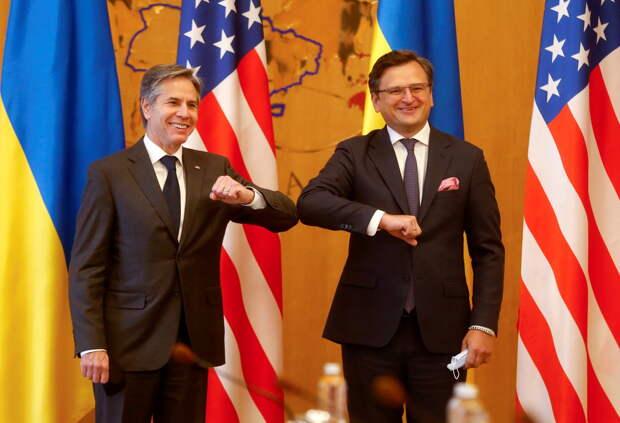 «Второстепенное место в политике США»: как прошёл визит госсекретаря Блинкена на Украину