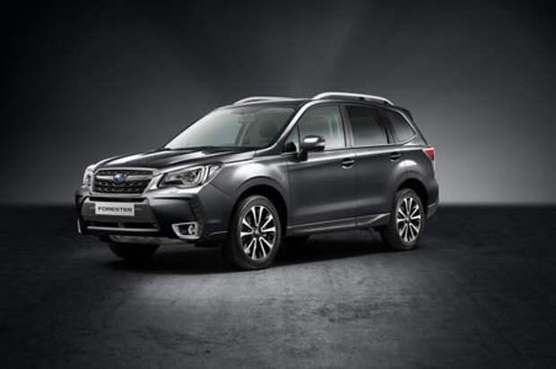 В России появилась спецверсия кроссовера Subaru Forester