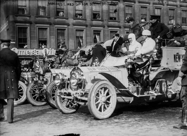 Гонка века авто, гонки, страницы истории