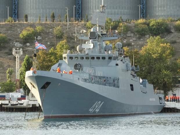 Названы 5 кораблей ВМФ России, доминирующих в акватории Черного моря