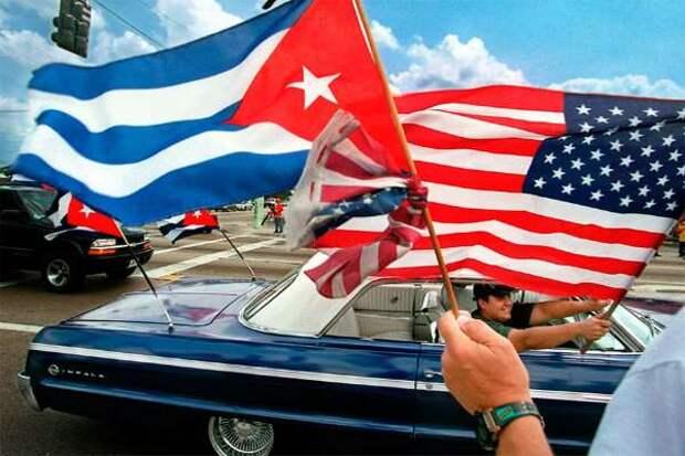 Группа поддержки «кубинского майдана» с позором вернулась в США