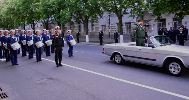 В Севастополе три дня будут репетировать парад в честь 75-летия Победы