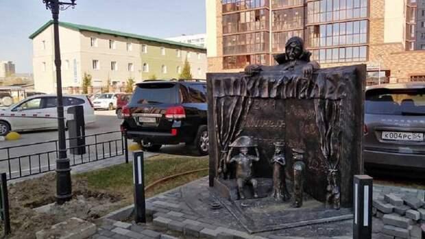 В Новосибирске появился памятник русскому литературному классику Николаю Гоголю