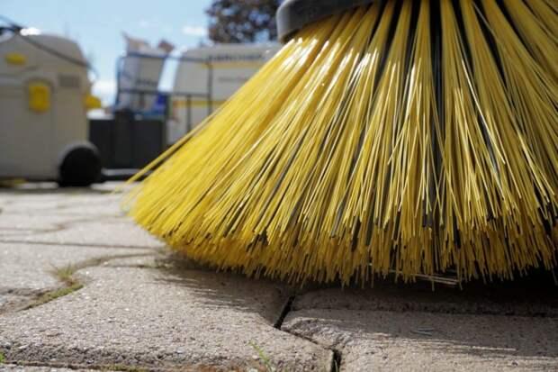 Коммунальщики оперативно очистили Беговую аллею от мусора