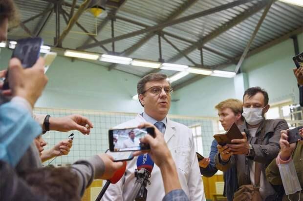 В Омской области пропал бывший главврач больницы, где лечили Навального