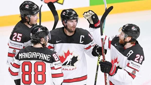 Сборная Канады сравняла счет в матче с Россией в четвертьфинале чемпионата мира