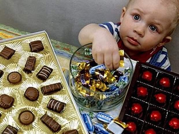 Почему дети так любят сладкие подарки?