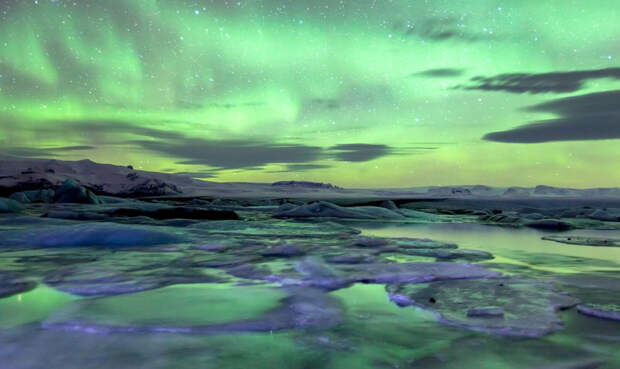 Звенящая красота замерзших озер