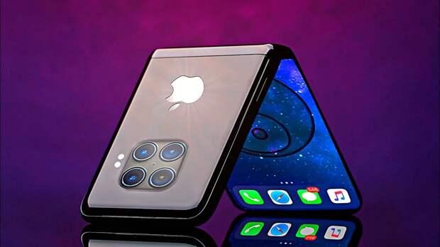 Apple начала разработку первого складного iPhone