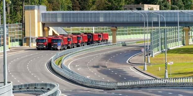 Движение на развязке МКАД с Осташковским шоссе с 12 по 24 июля по ночам будет перекрыто