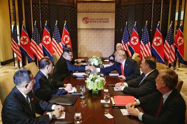 В Ханое завершился первый раунд переговоров Трампа и Ким Чен Ына