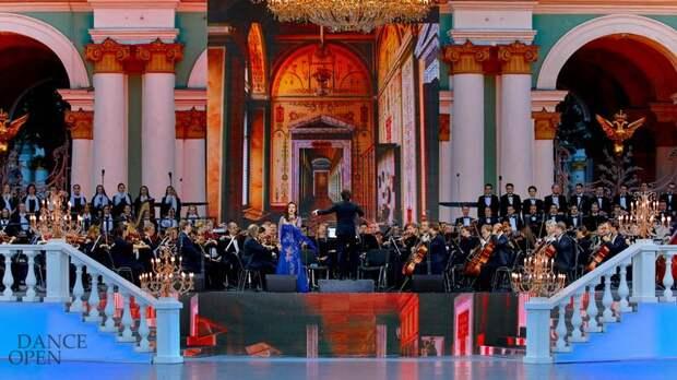 Петербуржцам раздадут ещё 12 тыс. билетов на концерт «Классика на Дворцовой»