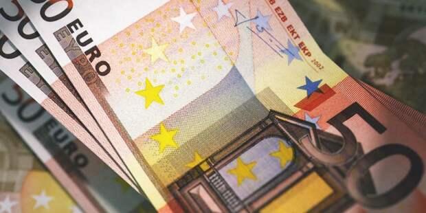 ЦБ: курс евро на среду снизился до 69,77 рубля
