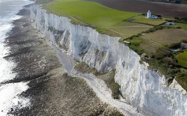 5 фото белых скал Дувра, из-за которых Англию называют Туманным Альбионом
