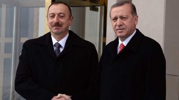 Алиев и Эрдоган приняли Шушинскую декларацию о союзнических отношениях...