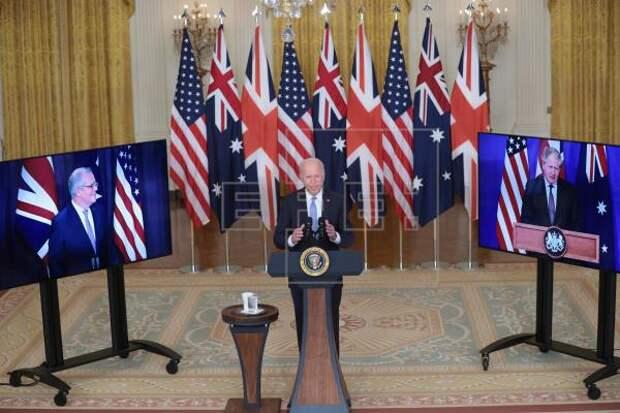 EEUU DEFENSA - Biden defiende su plan de ayudar a Australia a obtener submarinos nucleares