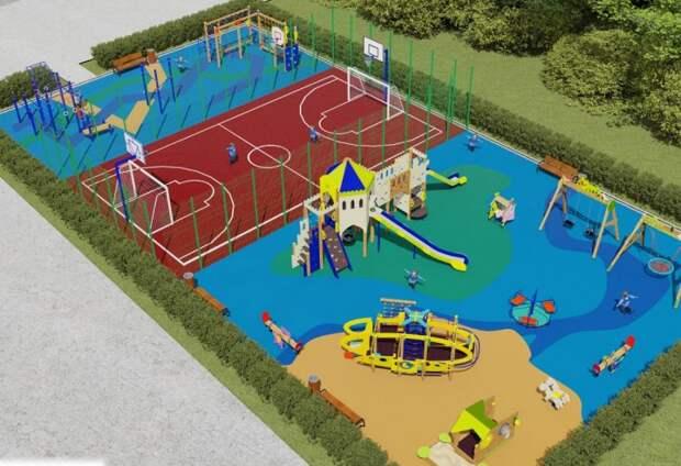 Семь новых детских площадок обустроят в районе Сокол