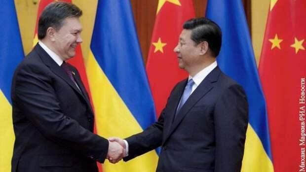 Киев вспомнил о покровительстве Китая назло Западу