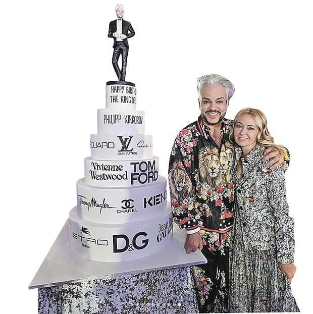 Филиппу Киркорову на день рождения подарили золотой сейф и бриллианты