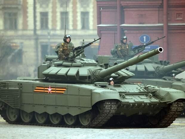 На параде в Кемерово загорелся военный «Урал»