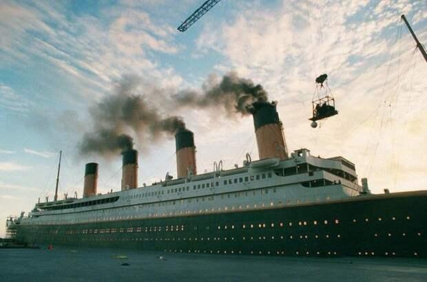"Съемки фильма ""Титаник"", 1997 г."