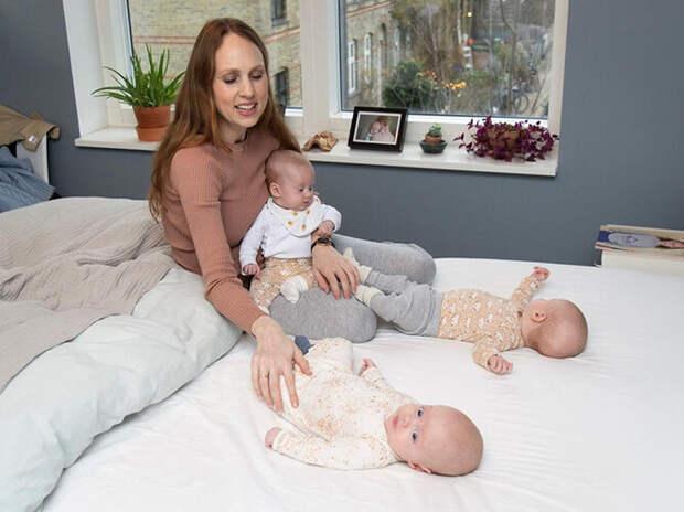 Женщина родила тройню и, не стесняясь, показывает, как изменилось ее тело